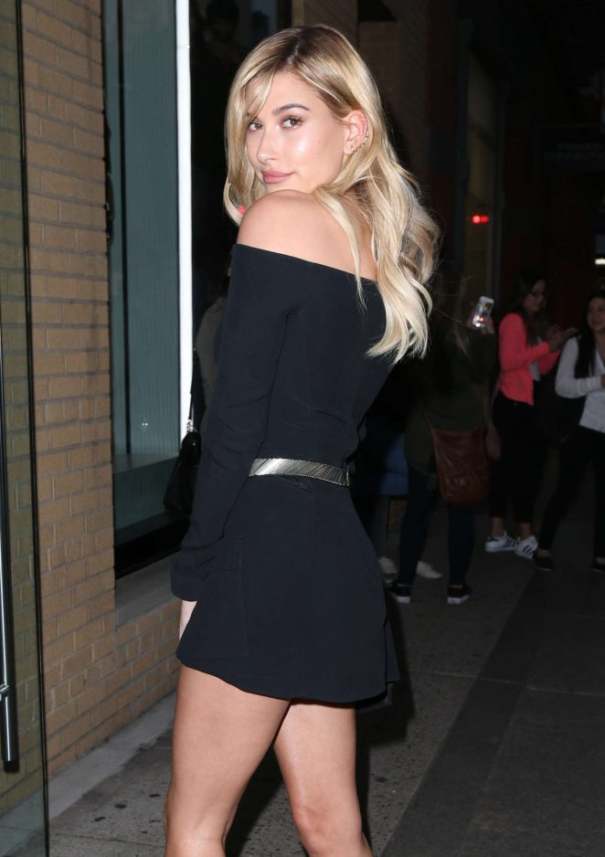 Hailey Baldwin out and about in New York City