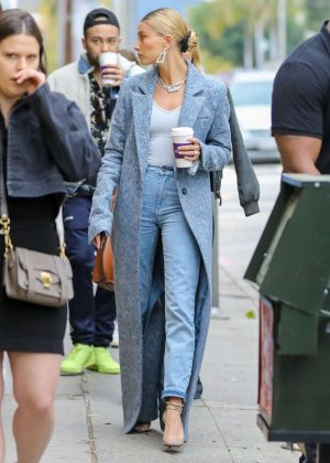 Hailey Baldwin - Out in Malibu