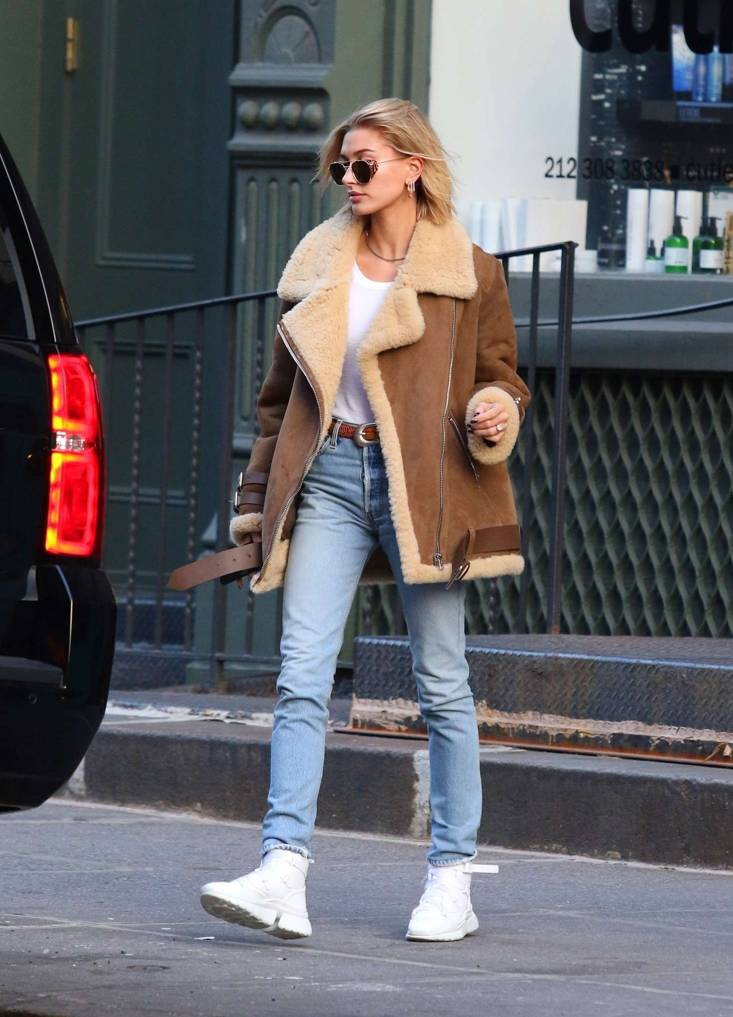 Hailey Baldwin - Out in New York City