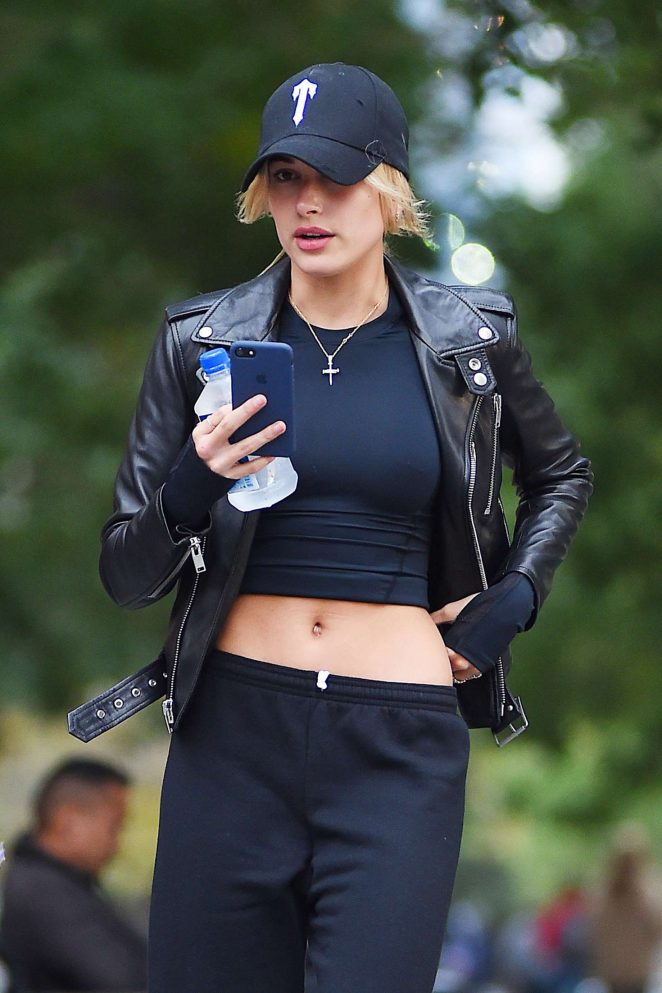 Hailey Baldwin out in New York -05