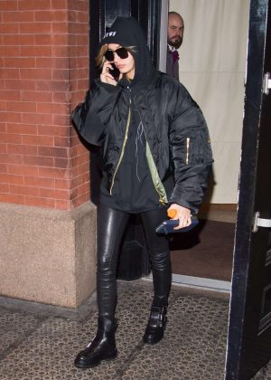 Hailey Baldwin out in SoHo New York City