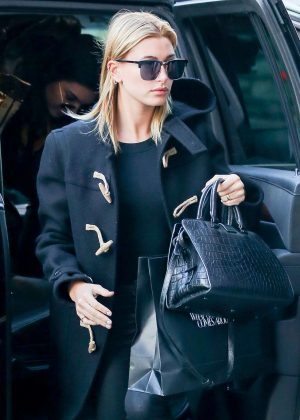 Hailey Baldwin out shopping in New York City