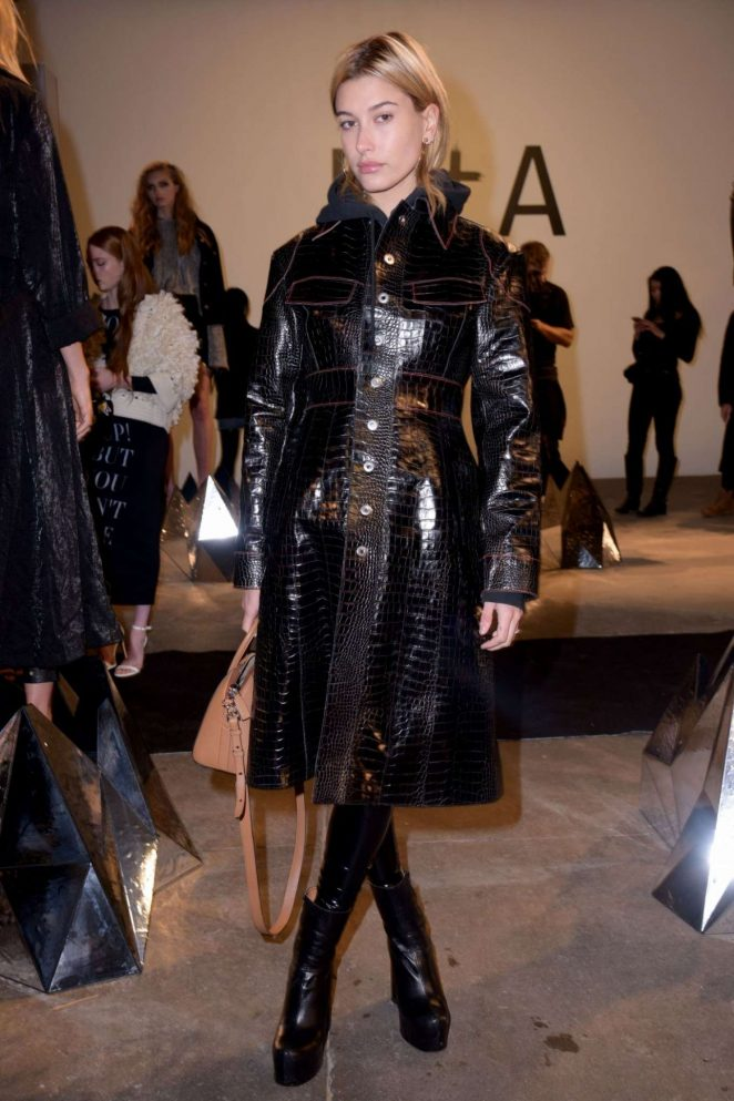 Hailey Baldwin - RTA Collection Show at 2017 NYFW in New York