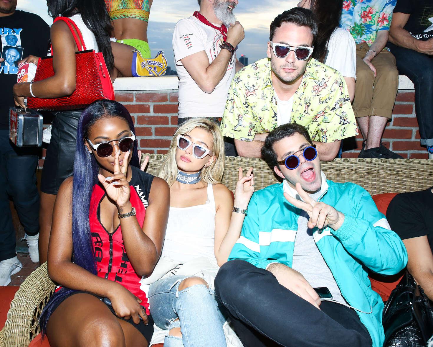 002bfa4eaf Hailey Baldwin  Smoke X Mirrors Presents Sodapop With Justine Skye ...
