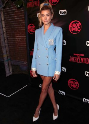 Hailey Baldwin - TBS' Drop the Mic and The Joker's Wild Premiere Party in Hollywood