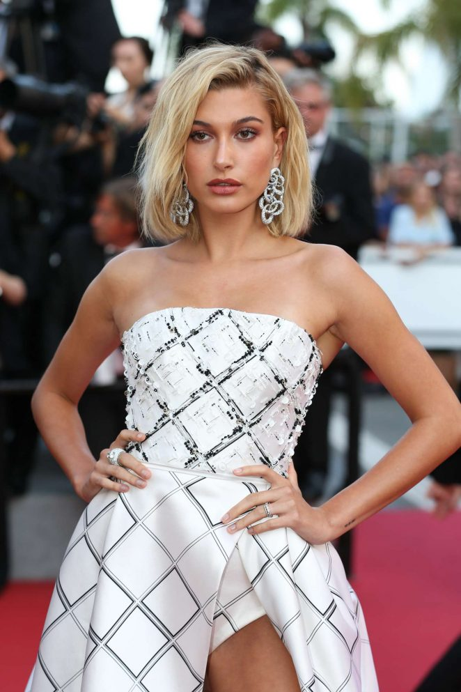 Hailey Baldwin - 'The Beguiled' Premiere at 70th Cannes Film Festival