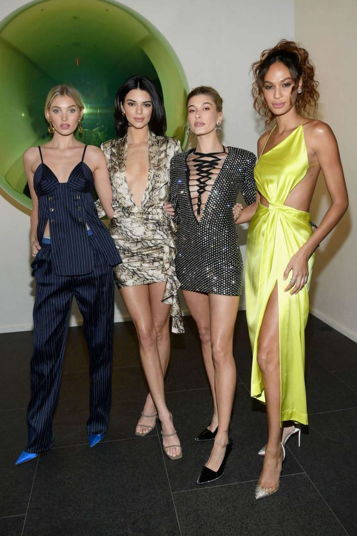 Hailey Baldwin - Times Square Edition Premiere in NYC