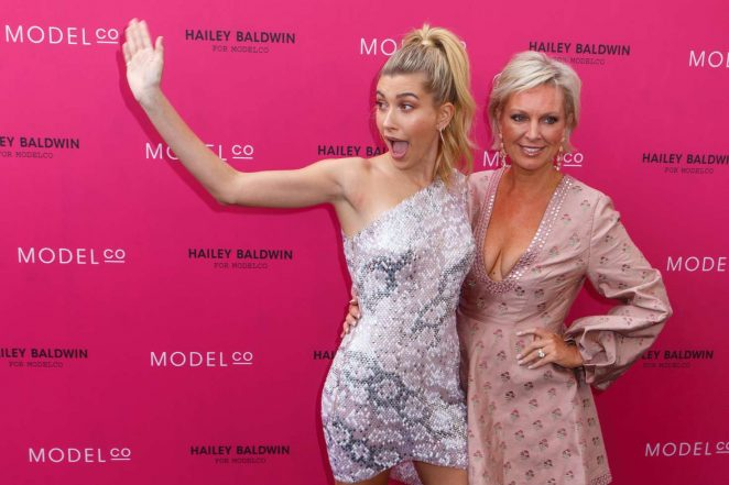 Hailey Baldwin: VIP launch of the Hailey Baldwin for ModelCo Cosmetics Range -04