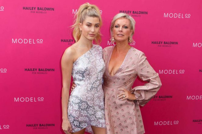 Hailey Baldwin: VIP launch of the Hailey Baldwin for ModelCo Cosmetics Range -09
