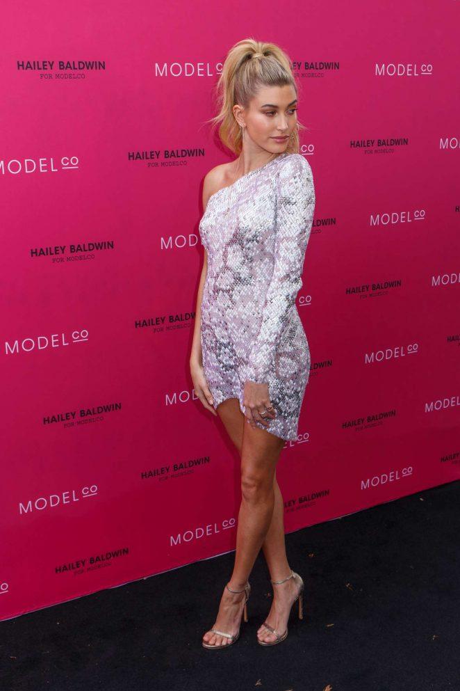 Hailey Baldwin: VIP launch of the Hailey Baldwin for ModelCo Cosmetics Range -11