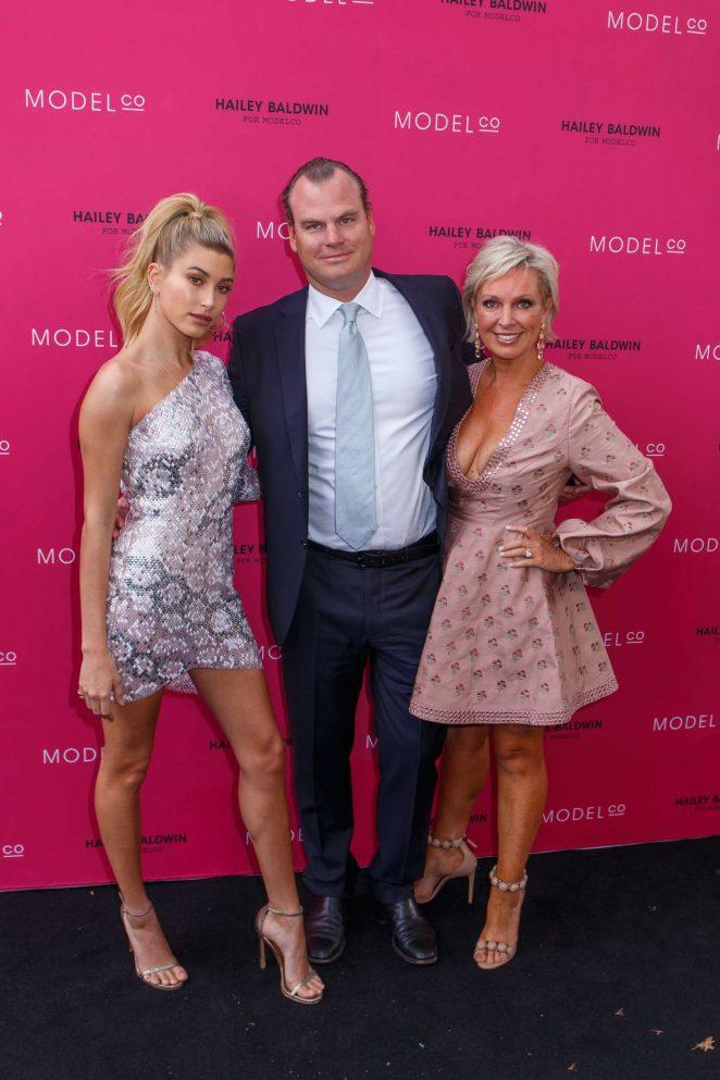 Hailey Baldwin: VIP launch of the Hailey Baldwin for ModelCo Cosmetics Range -17