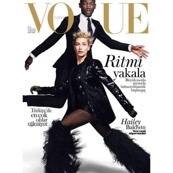Hailey Baldwin - Vogue Turkey Magazine (March 2018)