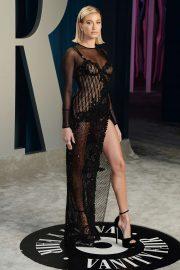 Hailey Bieber - 2020 Vanity Fair Oscar Party in Beverly Hills