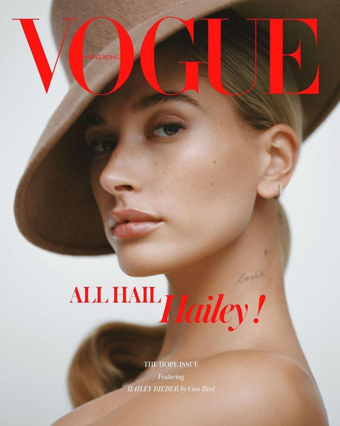 Hailey Bieber for Vogue Hong Kong 2019-02