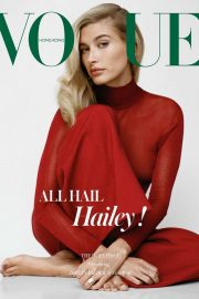Hailey Bieber for Vogue Hong Kong (December 2019)