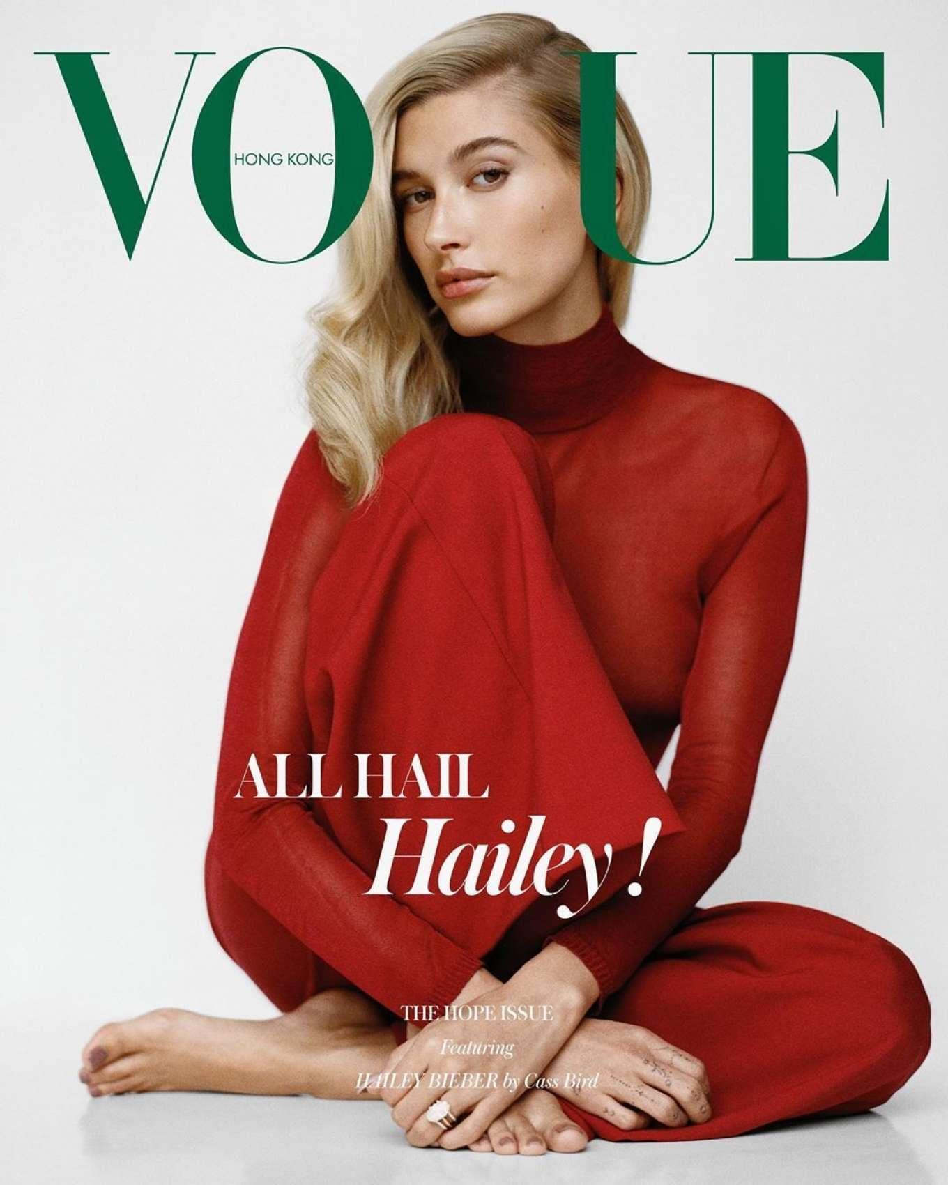 Hailey Bieber 2019 : Hailey Bieber for Vogue Hong Kong 2019-04