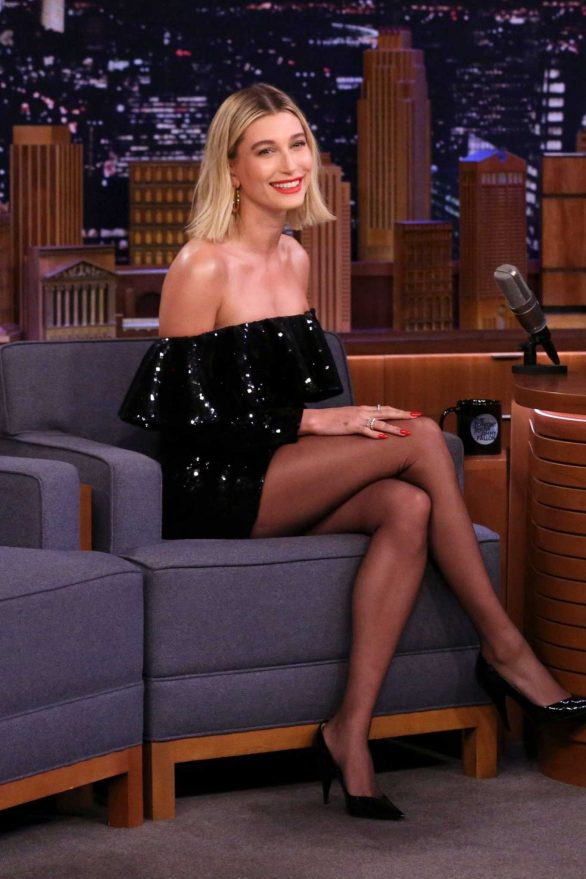 Hailey Bieber - On 'The Tonight Show Starring Jimmy Fallon' in NYC