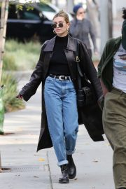 Hailey Bieber - Out for lunch in West Hollywood