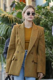 Hailey Bieber - Out in Beverly Hills