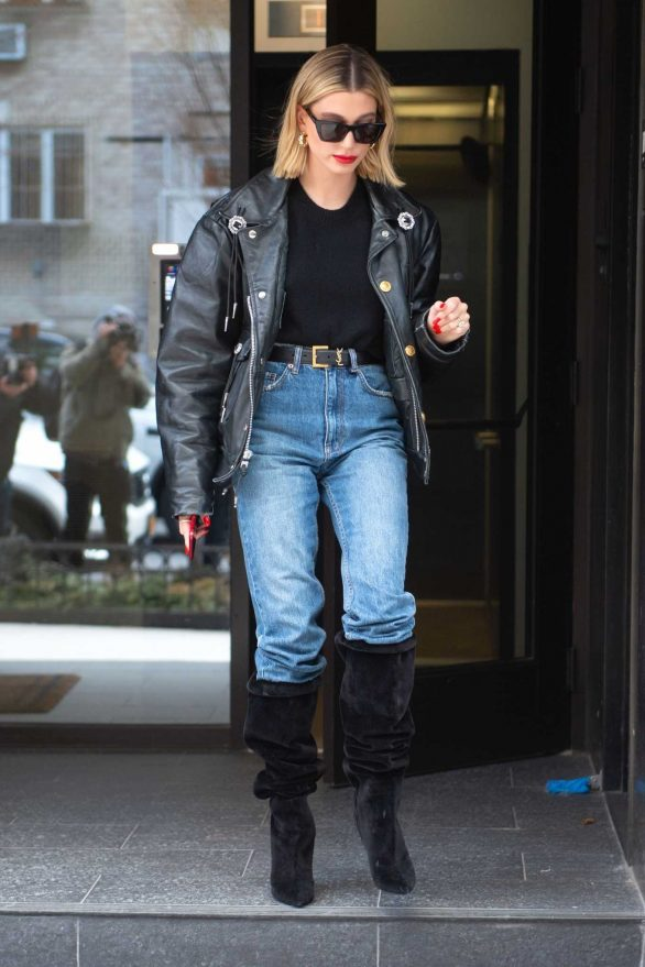 Hailey Bieber - Out in Brooklyn