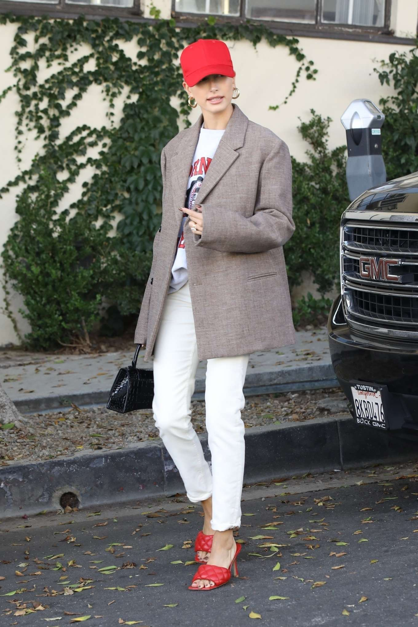 Hailey Bieber - out in West Hollywood