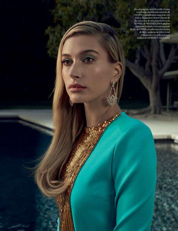 Hailey Bieber - Vogue Magazine (Spain - March 2020 issue)