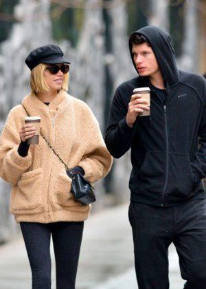 Hailey Clauson and boyfriend Julian Herrera out in New York City