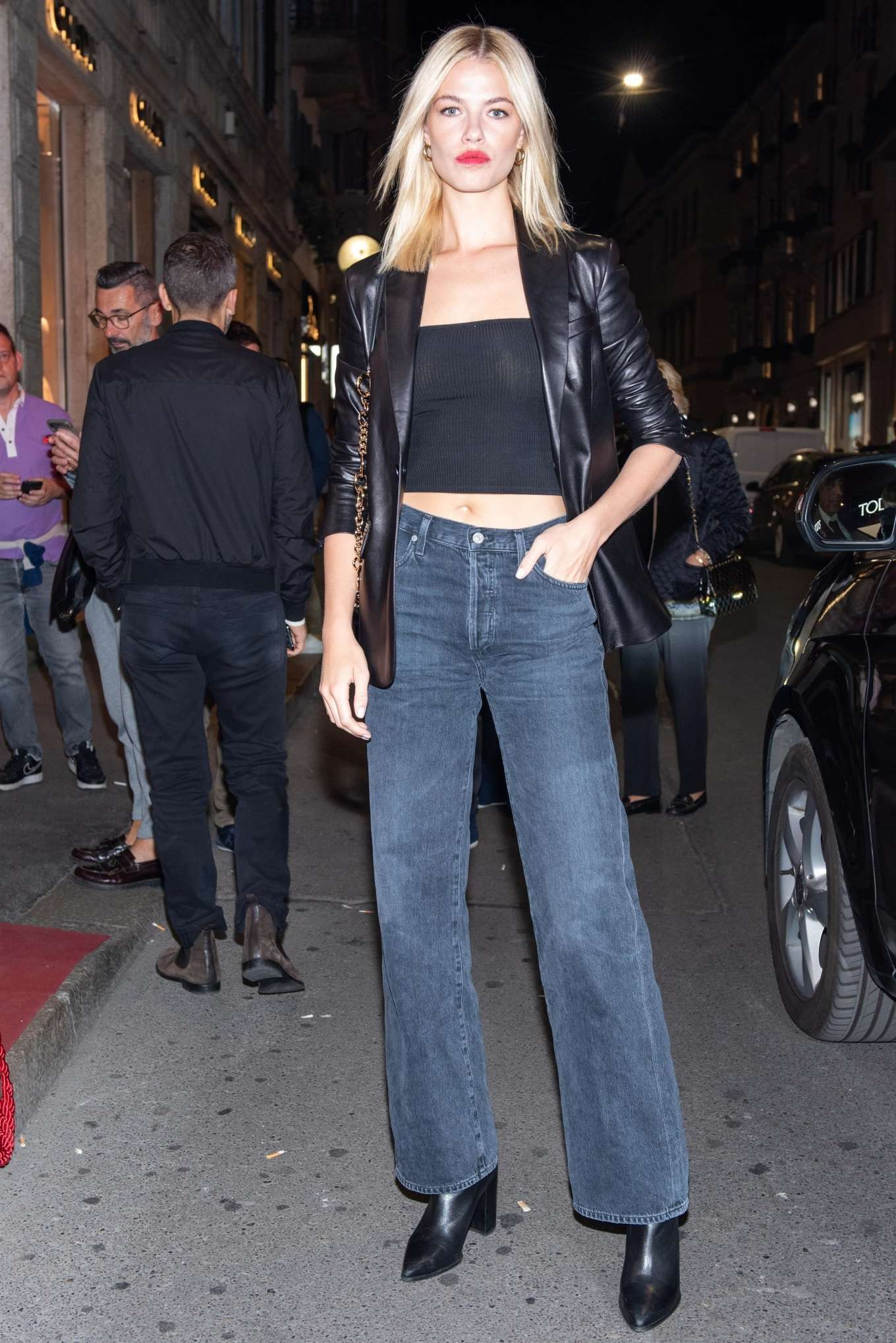 Hailey Clauson 2019 : Hailey Clauson – Arrives at Tods store opening at Milan Fashion Week-01