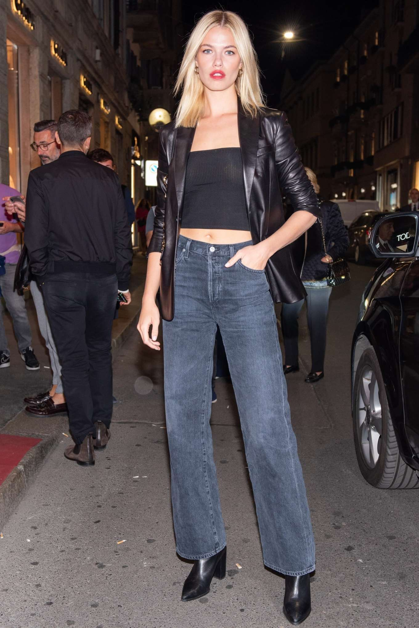 Hailey Clauson 2019 : Hailey Clauson – Arrives at Tods store opening at Milan Fashion Week-04