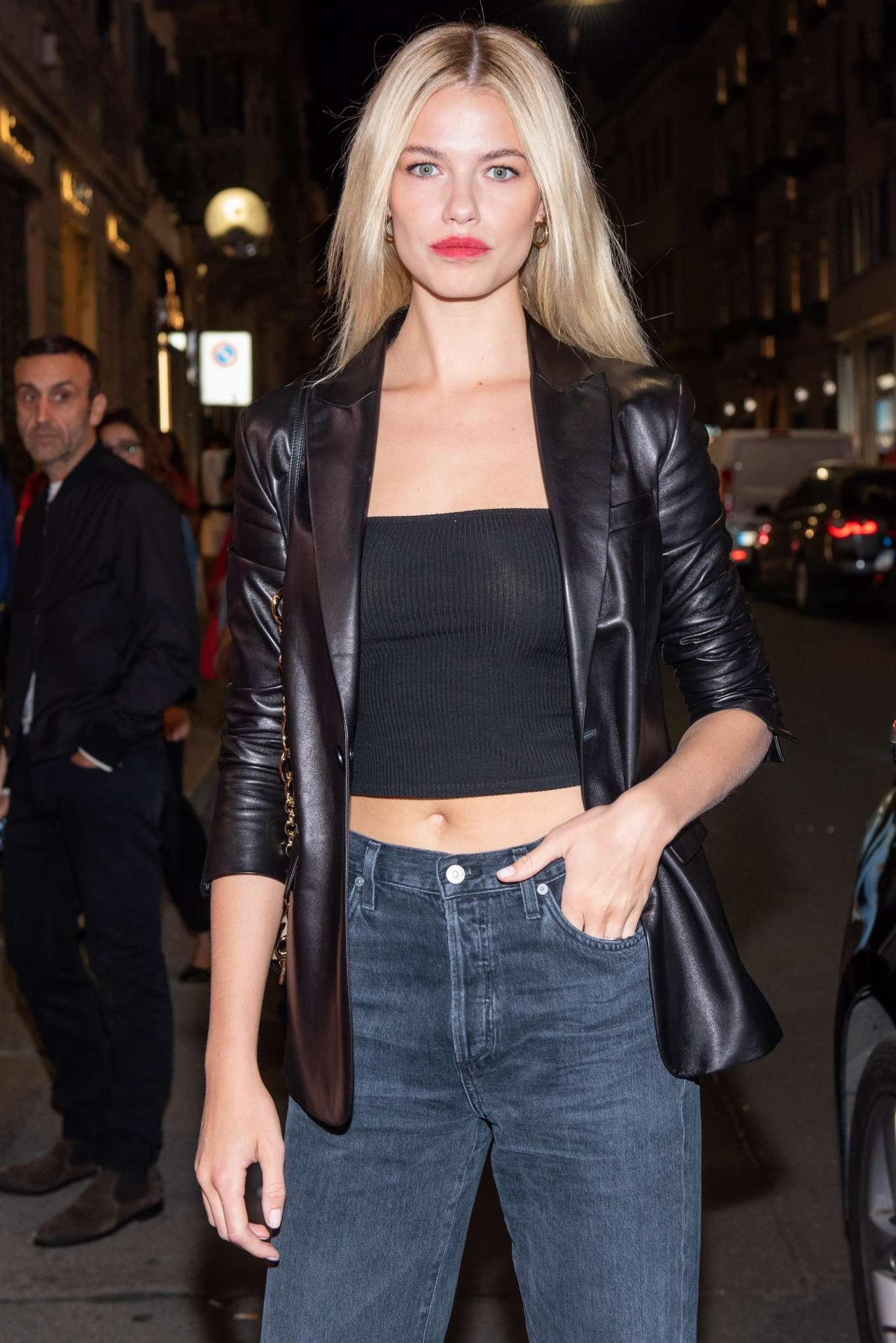 Hailey Clauson 2019 : Hailey Clauson – Arrives at Tods store opening at Milan Fashion Week-06