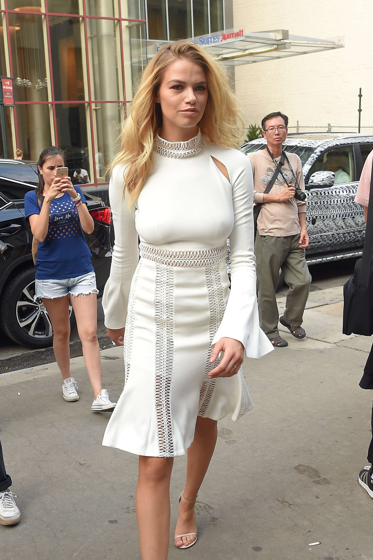 Hailey Clauson Out In New York City Gotceleb