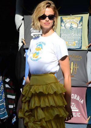Hailey Clauson - Photoshoot on the Venice Beach