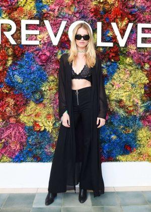 Hailey Clauson - Revolve Festival at 2017 Coachella in Indio