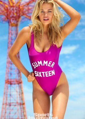 Hailey Clauson - SI: Summer of Swim (August 2016)