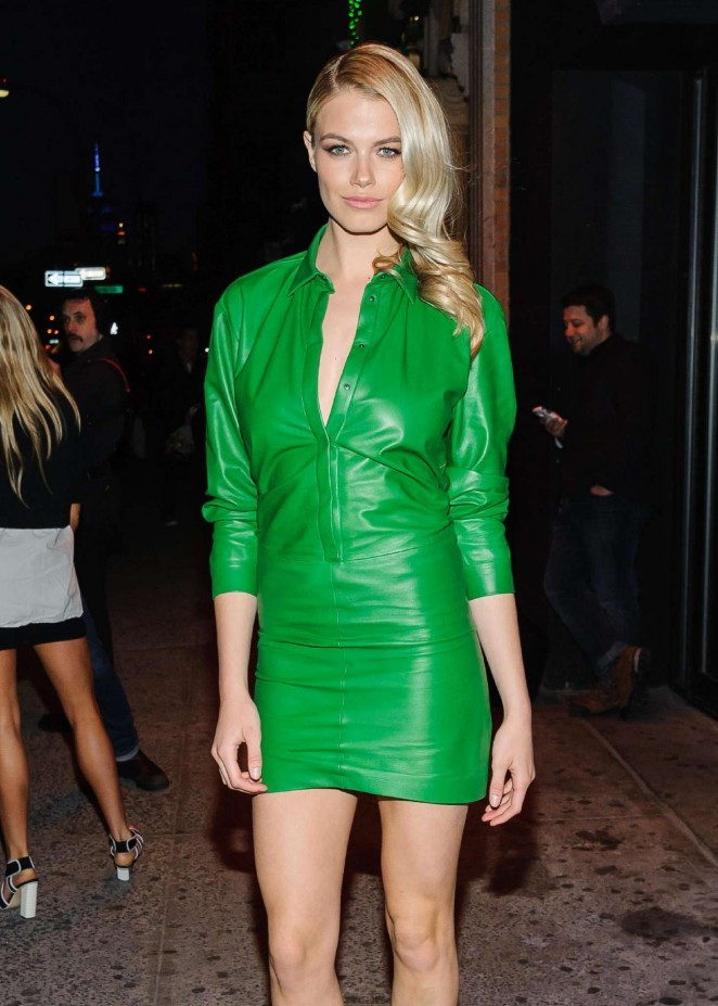 Hailey Clauson - Sports Illustrated's Fashionable 50 NYC Event in New York