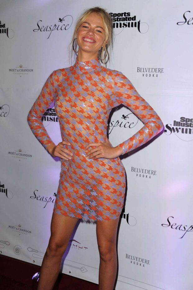 Hailey Clauson - Sports Illustrated Swimsuit 2019 Issue Launch in Miami