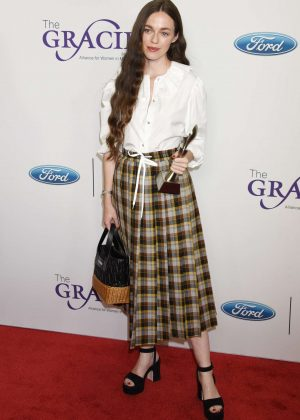 Hailey Gates - 2018 Gracie Awards Gala in Beverly Hills