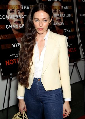 Hailey Gates - 'Notes From The Field' Special Screening in New York