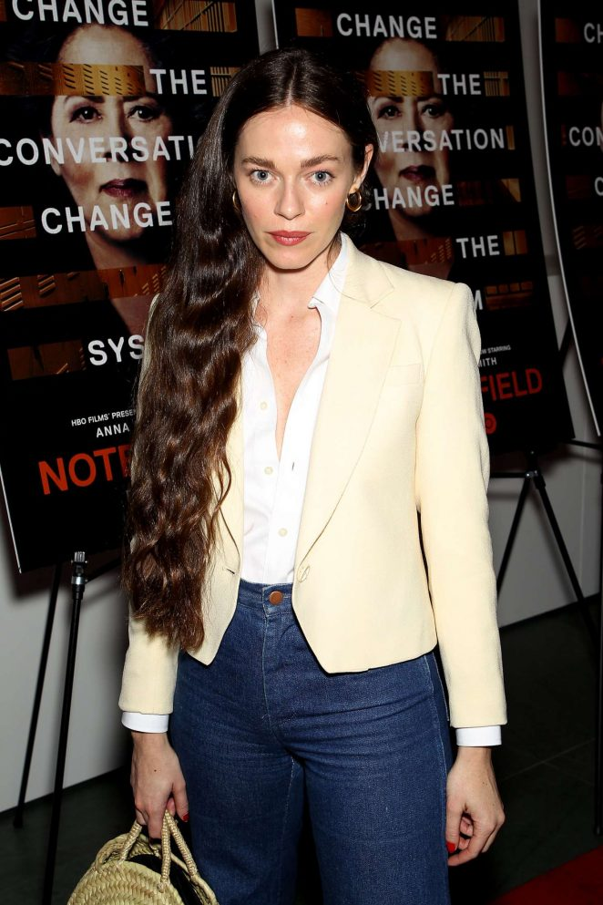 Hailey Gates – 'Notes From The Field' Special Screening in New York