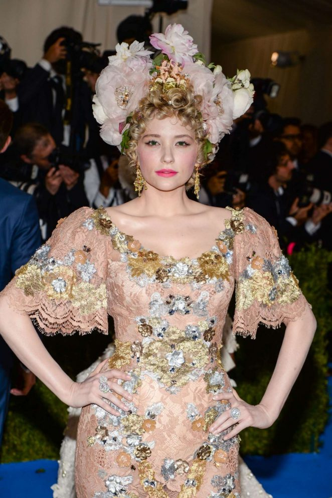 Haley Bennett - 2017 MET Costume Institute Gala in NYC
