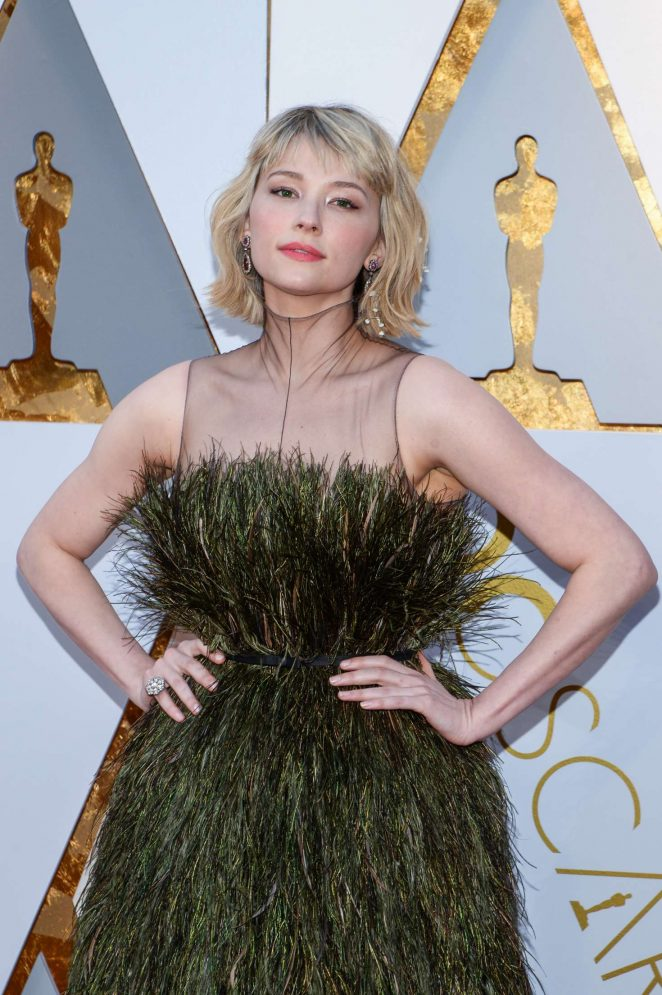 Haley Bennett - 2018 Academy Awards in Los Angeles