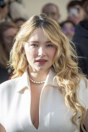 Haley Bennett - Attends the Dior Haute Couture SS 2020 Show in Paris