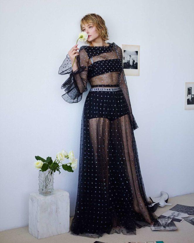 Haley Bennett - Glass Magazine (Winter 2017)