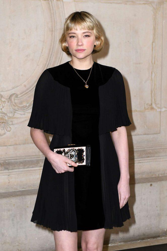 Haley Bennett - Le Bal Surrealiste Dior at Haute Couture SS 2018 Show in Paris