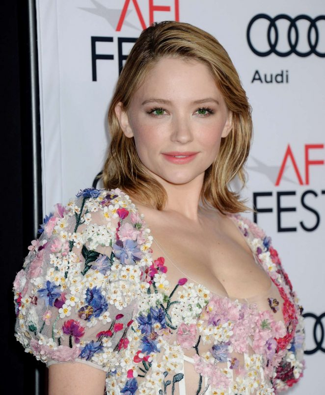 Haley Bennett - 'Rules Don't Apply' Premiere at AFI Fest 2016 in LA