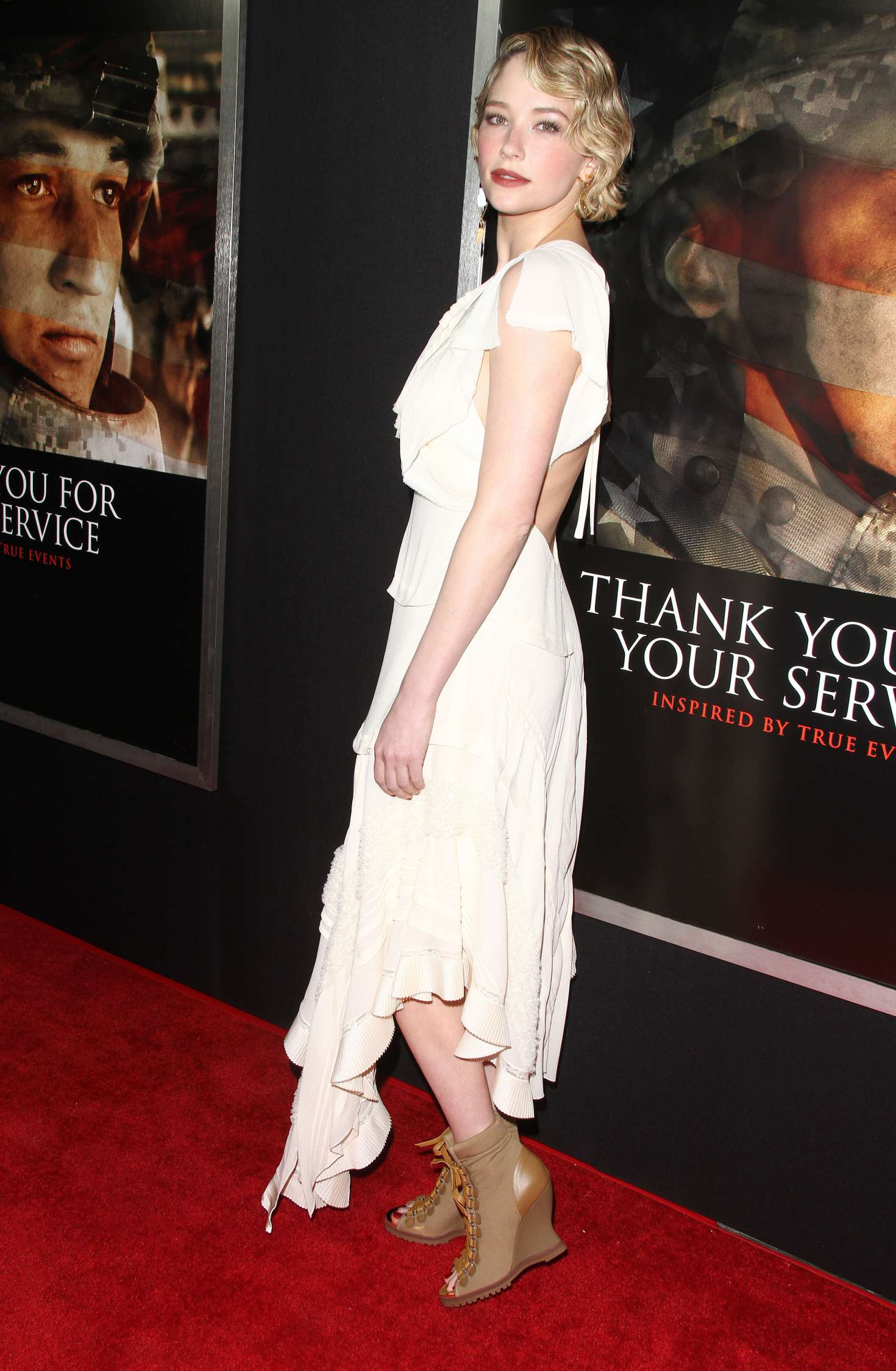 Haley Bennett Thank You For Your Service Premiere 10 Gotceleb