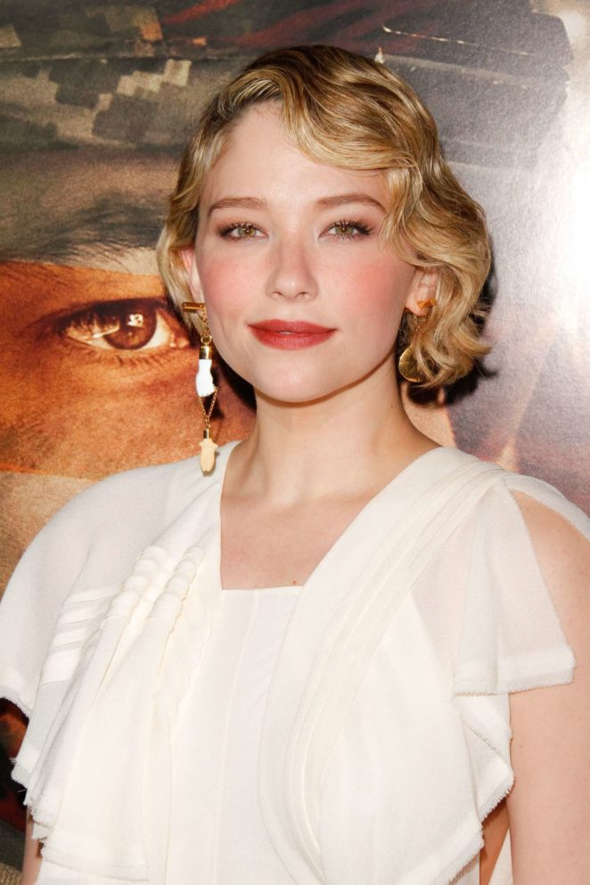 Haley Bennett - 'Thank You For Your Service' Premiere in Los Angeles