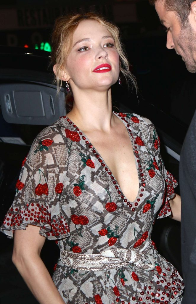 Haley Bennett - 'The Girl On The Train' Premiere in New York