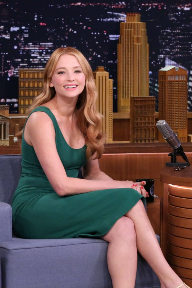 Haley Bennett - 'The Tonight Show with Jimmy Fallon' in New York