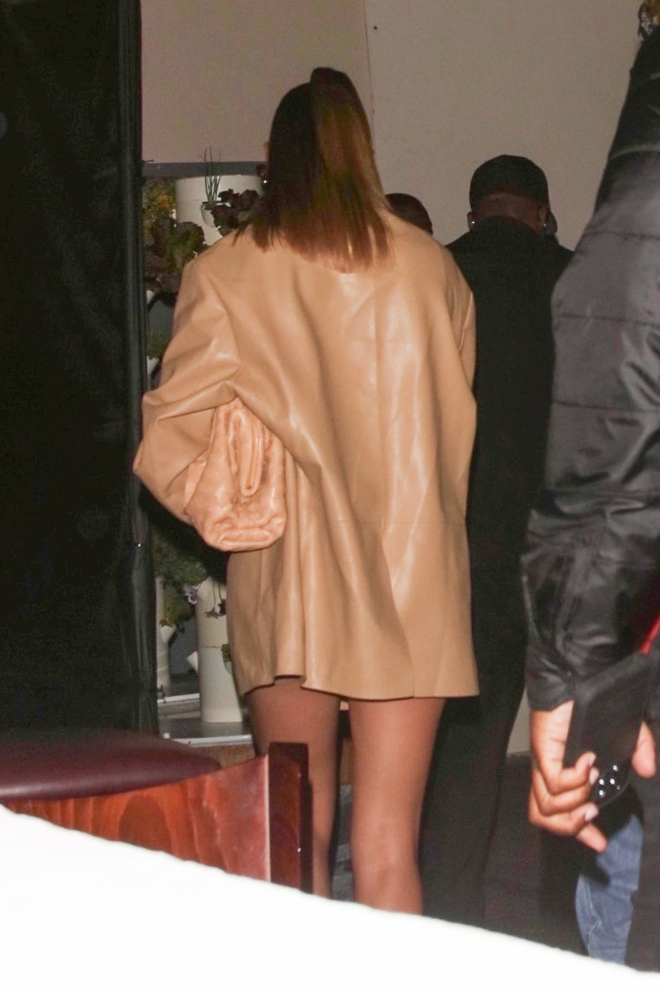 Haley Bieber 2021 : Haley Bieber – Looks chic for date night in West Hollywood-02